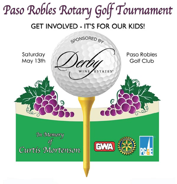 Paso Robles Rotary Golf Tournament